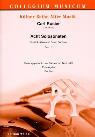 Sonates de Carl Rosier