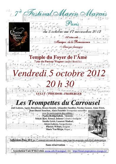 Trompettes du Carrousel 051012