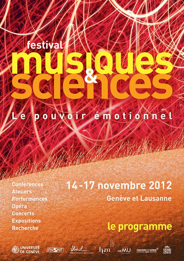 Musiques & Sciences 2012