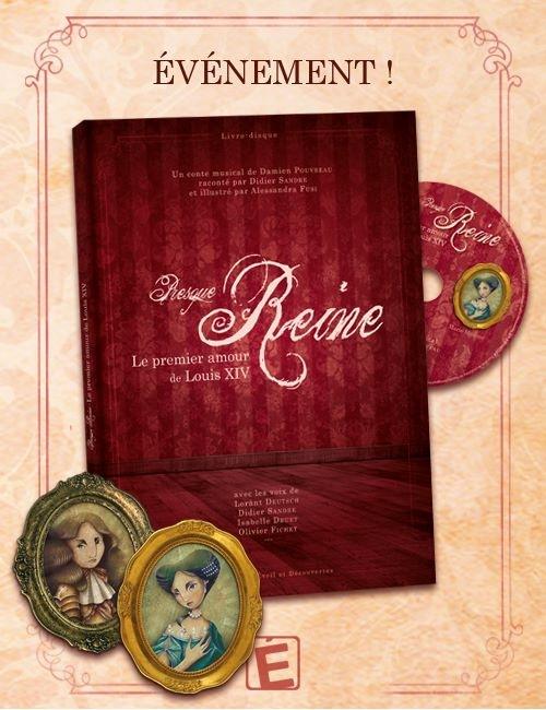 Livre CD Presque Reine