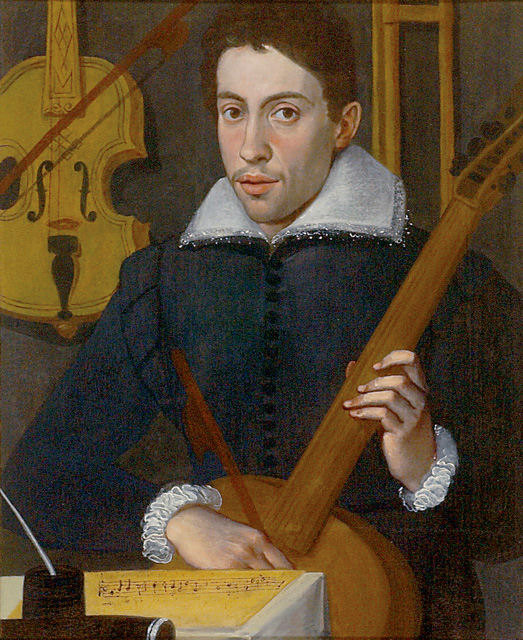 Monteverdi (primeiro retrato) 30 ans