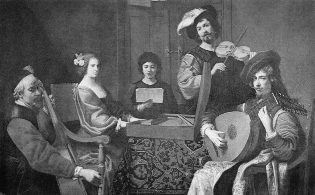Tournières - Concert (1690)