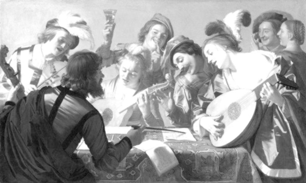 Honthorst, Gerrit von - The concert (1623)