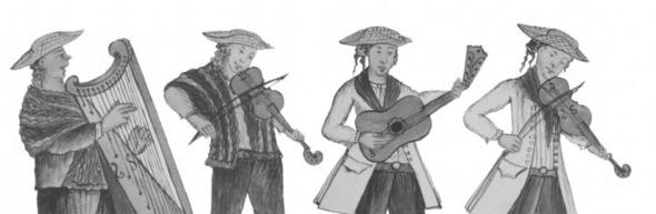 Tonadas Cachuas y Bailes