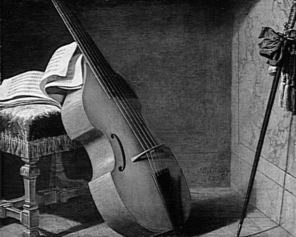 Oudry - Basse de viole