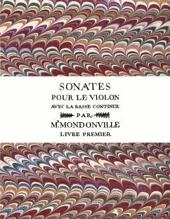 Mondonville | Sonates