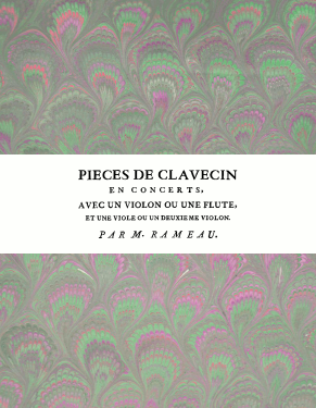 Rameau | Pièces de clavecin en concerts