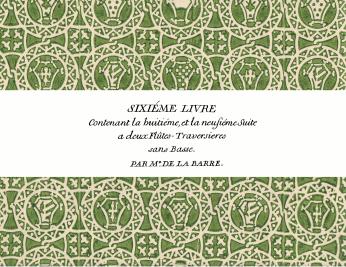 La Barre | Livre 6