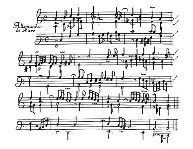 Chambonnières 1670