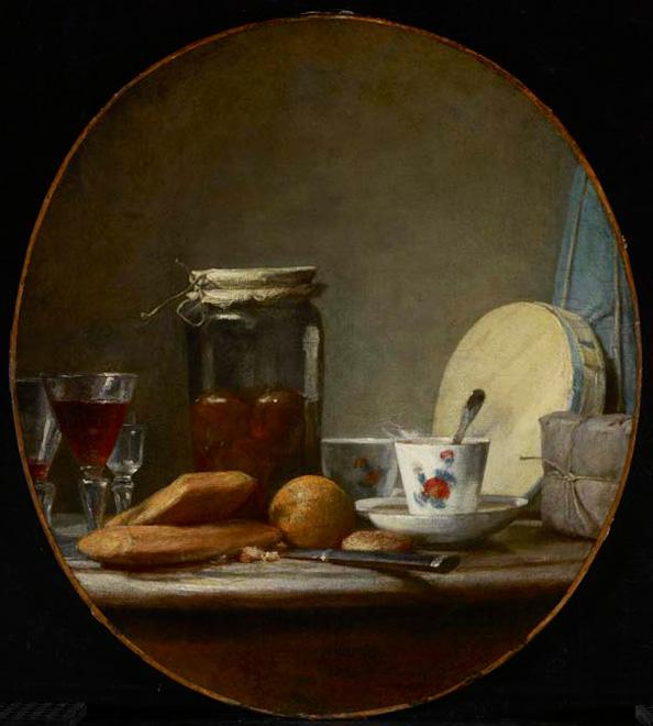 Chardin - Jar of Apricots  [AGO, Torobto]