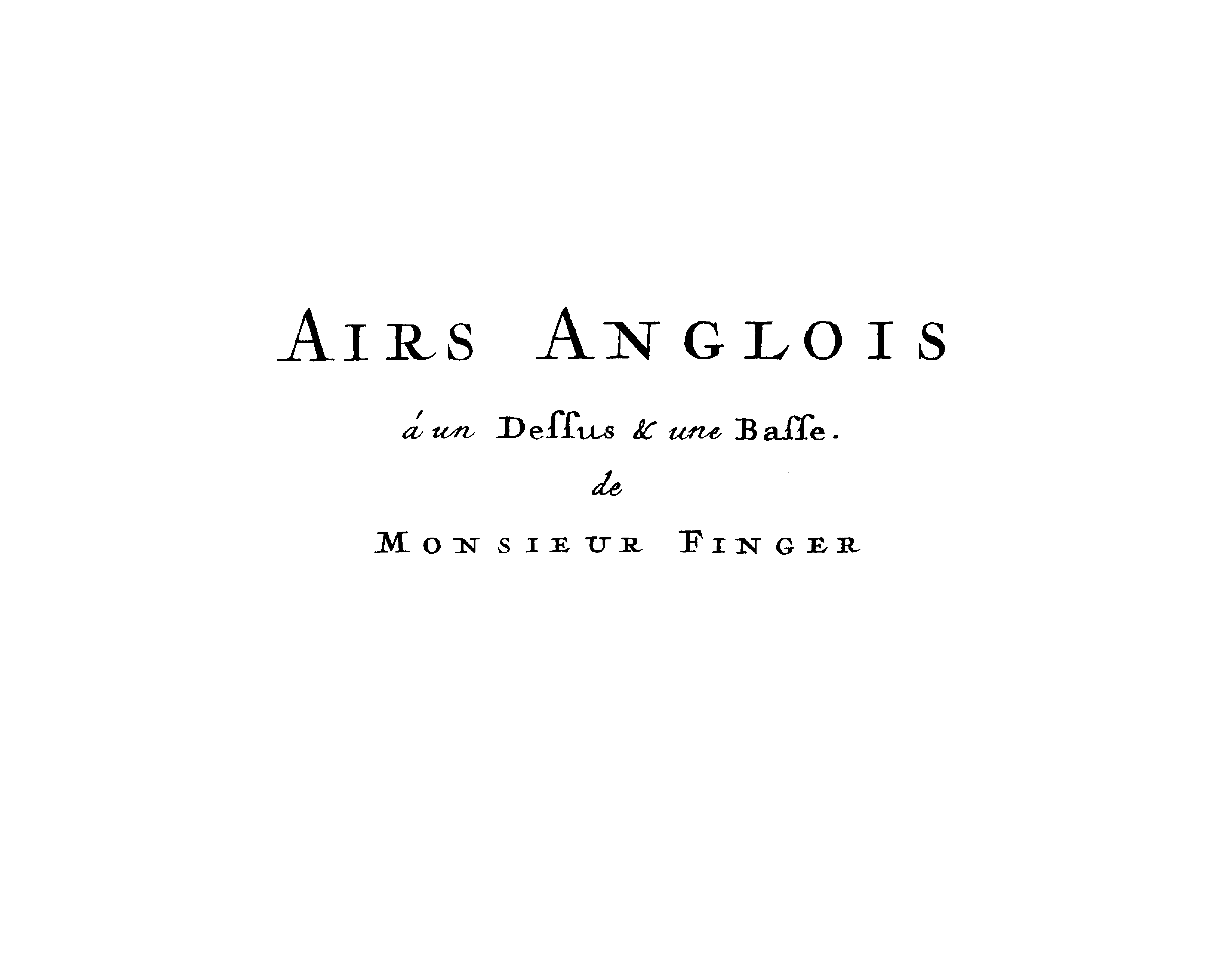 """Anglois new restored early music edition: """"airs anglois""""godfrey"""